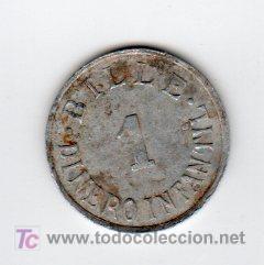 BILLE 1 DINERO INFANTIL, VALOR EN JUGUETE (Numismática - España Modernas y Contemporáneas - Locales y Fichas Dinerarias y Comerciales)