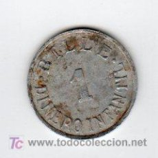 Monedas locales: BILLE 1 DINERO INFANTIL, VALOR EN JUGUETE. Lote 24080169