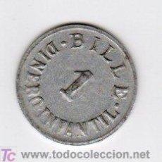 Monedas locales: BILLE 1 DINERO INFANTIL, VALOR EN JUGUETE. Lote 19784209