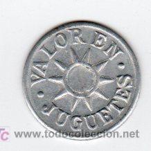 Monedas locales: BILLE 1 DINERO INFANTIL, VALOR EN JUGUETE - Foto 2 - 26353510