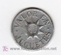 Monedas locales: BILLE 5 DINERO INFANTIL, VALOR EN JUGUETE - Foto 2 - 23725920