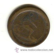 Monedas locales: DIEZ CENTIMOS A MODO DE FICHA DE CASINO. Lote 23289054