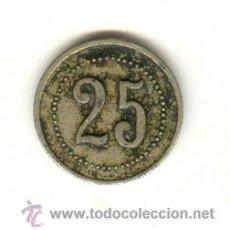 Monedas locales: MALLORCA FICHA CASINO A CLASIFICAR. Lote 23563099