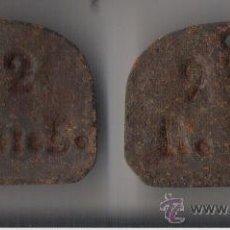 Monedas locales: VILASSAR DE DALT *FICHAS PRODUCCION/PAGO DE EMPRESA TEXTIL* AÑOS 30/40. Lote 23659765
