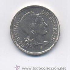 Monedas locales: EUZKADI- 2 PESETAS-1937. Lote 17410038
