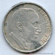 Monedas locales: FICHA ALFONSO XIII. Lote 26968353