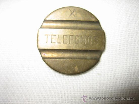 FICHA TELEFONOS (Numismática - España Modernas y Contemporáneas - Locales y Fichas Dinerarias y Comerciales)