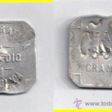 Monedas locales: FICHA: ERANDIO 500 GR PAN - BILBAO - VIZCAYA (4). Lote 27395421