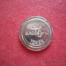 Monedas locales: FICHA - EUROCOIN 20P TOKEN. Lote 23932876