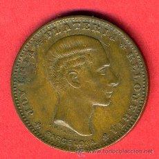 Monedas locales: FICHA PUBLICIDAD RELOJERIA PLATERIA LA ISLA DE CUBA BARCELONA SIGLO XIX , ORIGINAL, F697. Lote 23964873