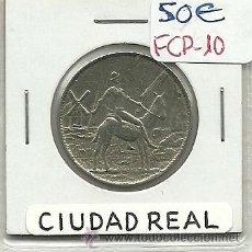 Monedas locales: (FCP-10)FICHA 1 PTS.CASINO DE CIUDAD REAL. Lote 24785321