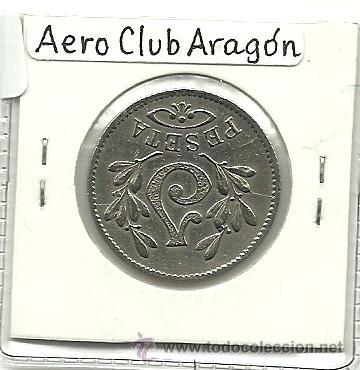 Monedas locales: (FCP-32)FICHA 1 PTS.AEREO CLUB ARAGON(ZARAGOZA) - Foto 2 - 24785891
