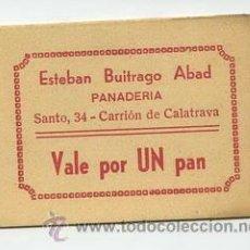 Monedas locales: PANADERIA ESTEBAN BUITRAGO ABAD / CARRION DE CALATRAVA / 1 PAN. Lote 26942048