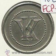 Monedas locales: (FCP-112)FICHA 2 PTS.CASINO KURSAL(VALENCIA). Lote 25203132