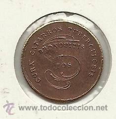 Monedas locales: (FCP-126)FICHA JARABE POBLADOR DE CIUDAD REAL - Foto 2 - 25267918