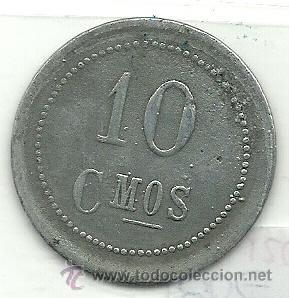Monedas locales: (FCP-120)FICHA 10 CTS.COOPERATIVA FLOR DE MAYO DE MASROIG(TARRAGONA) - Foto 2 - 25531426