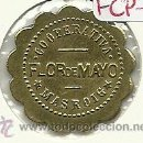 Monedas locales: (FCP-143)FICHA 25 CTS.COOPERATIVA FLOR DE MAYO DE MASROIG(TARRAGONA). Lote 25531534