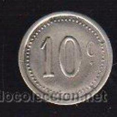 Monedas locales: FICHA DE 10 CENTIMOS A IDENTIFICAR. Lote 26104109