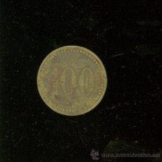 Monedas locales: FICHA DE 100 A IDENTIFICAR.. Lote 26104569