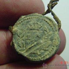 Monedas locales: 1551 MARCHAMO DE PLOMO - IMPUESTOS HACIENDA - SIGLO XIX - MAS EN MI TIENDA. Lote 26650670