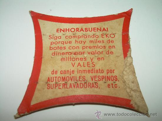 Monedas locales: CARTON CON MODEDA SIN CIRCULAR......PREMIO DE LA CASA EKO. - Foto 2 - 27068521