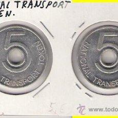 Monedas locales: C160-NATIONAL TRANSPORT TOKEN. 5. Lote 27199699