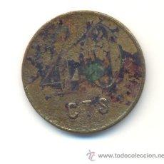 Monedas locales: MALLORCA FICHA VALOR 40 CÉNTIMOS A CLASIFICAR. Lote 27340404