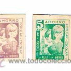 Monedas locales: CARTON DE 1 PTA. Y 5 PTS. LA CAIXA MONEDA DE LA TRANSICION. Lote 27343079