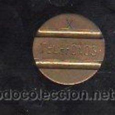 Monedas locales: ESPAÑA. FICHA TELEFONICA EN METAL. Lote 27528533