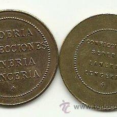 Monedas locales: (FCP-212)FICHAS S/V.ALMACENES SANTA CRUZ(MADRID). Lote 27726283