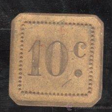 Monedas locales: FICHA DE 10 CENTIMOS A IDENTIFICAR. Lote 27731939