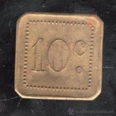 Monedas locales: FICHA DE 10 CENTIMOS A IDENTIFICAR. Lote 27731941