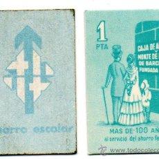 Monedas locales: VALE 1 PESETA. CAJA DE AHORROS Y MONTE DE PIEDAD BARCELONA. LA CAIXA. CAIXABANK.. Lote 233844235