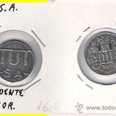 Monedas locales: FICHA DE TUTSA REVERSO NO COINCIDENTE. SIN VALOR. C215.. Lote 28660273