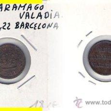 Monedas locales: C264-PAPEL JARAMAGO VALADIA. BARCELONA.. Lote 28709699