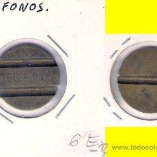 Monedas locales: FICHA TELEFÓNICA DE ESPAÑA. (C344).. Lote 28831326