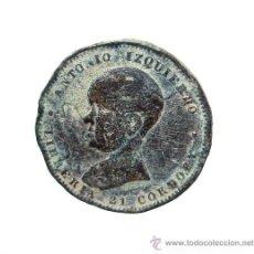 Monedas locales: LIBRERIA 21 CÓRDOBA · ANTONIO IZQUIERDO // GUANTERÍA PERFUMERÍA Y NOVEDADES. RARA FICHA.. Lote 29369573