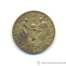 Monedas locales: RAROS 10 CÉNTIMOS. S/F. CAJA MUTUA POPULAR. BARCELONA.. Lote 29872098