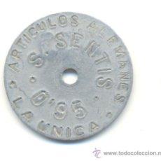 Monedas locales: FICHA ARTICULOS ALEMANES,LA UNICA 0,95 ALUMINIO MUY BONITA.. Lote 29897449