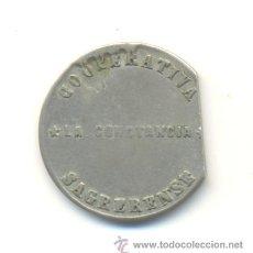Monedas locales: UNA PESETA COOPERATIVA LA CONSTANCIA SAGRERENSE. Lote 29900775