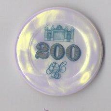 Monedas locales: FICHA CASINO DE BARCELONA 200. Lote 29925334