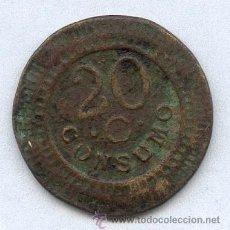 Monedas locales: FICHA 20 CONSUMOS. Lote 30318712