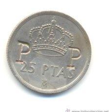 Monedas locales: CURIOSAS 25 PESETAS DEL AÑO 1983 CON EL RESELLO P P. Lote 31095526