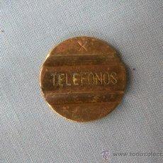 Monedas locales: ANTIGUA FICHA DE TELÉFONO DE TELEFÓNICA ESPAÑA. Lote 31190129