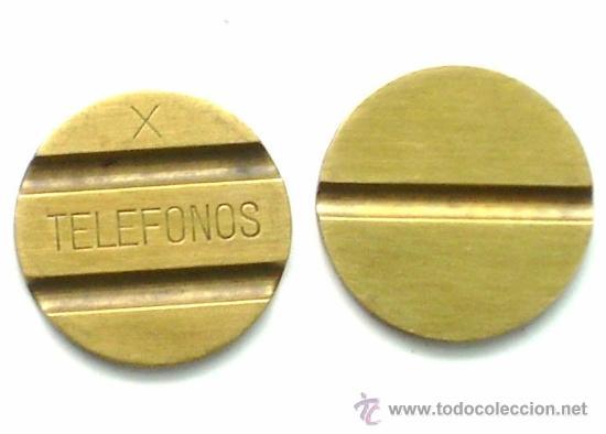 ANTIGUA FICHA DE TELEFÓNICA, DE TELÉFONOS (Numismática - España Modernas y Contemporáneas - Locales y Fichas Dinerarias y Comerciales)