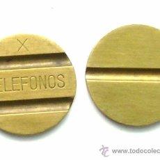 Monedas locales: ANTIGUA FICHA DE TELEFÓNICA, DE TELÉFONOS. Lote 144766817