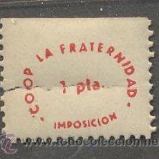 Monedas locales: COOPERATIVA LA FRATERNIDAD 1 PTS. Lote 32428444