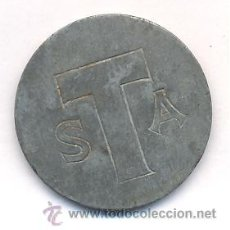 Monedas locales: RARA FICHA SANTA EULALIA. Lote 32446319