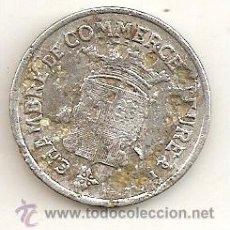 Monedas locales: FRANCIA: FICHA DE ALUMINIO DE CÁMARA DE COMERCIO. 1922. Lote 32690860