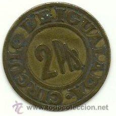 Monedas locales: (FCP-240)FICHA 2 PTS.CIRCULO DE IGUALADA. Lote 33071317